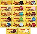 Marabou Chocolate 185g-200g (Pack of 10) - Pick Any 10 bars from 17 Flavors