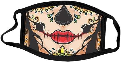 Halloween Decorations Reusable Balaclava,Decorative_Face_Mask Bandanas Scarf