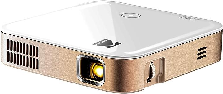 Videoproiettore kodak luma 350 proiettore smart mobile potente ultra hd RODPJS350