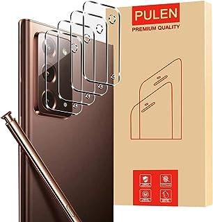 [4 عبوات] PULEN لحامي عدسة الكاميرا Samsung Galaxy Note 20 5G، زجاج مقاوم للخدش عالي الدقة مقاوم للتشقق، مضاد للبصمات، زجا...