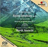 Richard Strauss: Alpine Symphony, Macbeth by R. Strauss (2009-07-28)