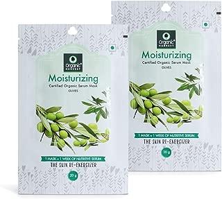 Organic Harvest Moisturising Face Sheet Mask, 20g (Pack of 2)