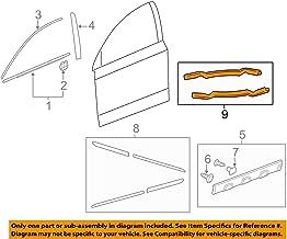 Honda Genuine Accessories 08P20-SWA-150 Glacier Blue Metallic Door Edge Guard for Select CR-V Models