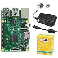 CanaKit Raspberry Pi 3 with 2.5A Micro USB Power Supply (UL Listed)
