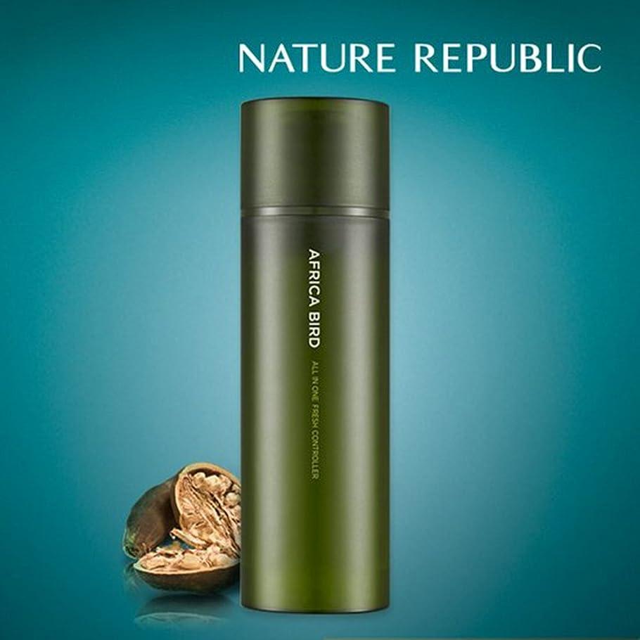 チャンス包括的閉塞NATURE REPUBLIC/ネイチャーリパブリック AFRICA BIRD HOMME ALL IN ONE FRESH CONTROLLER/アフリカバード オム オールインワン フレッシュコントローラー 150ml(海外直送品)