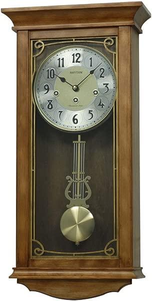 Rhythm USA WSM Hampton Wall Clock
