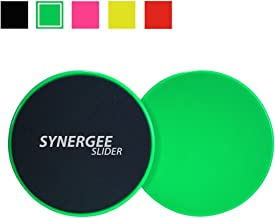 Synergee Core Sliders. Dual Sided Use on Carpet or...