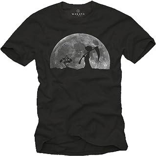 Camisetas Divertidas Hombre - LA Muerte EN EL Jardin