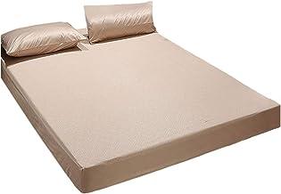 Bedding Premium Mattress Cover 3D Embossed Fabric Waterproof Mattress Encasement Moisture Protection Sleep Comfort (30cm D...