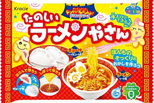 たのしいラーメンやさん10個入BOX(食玩・知育菓子)