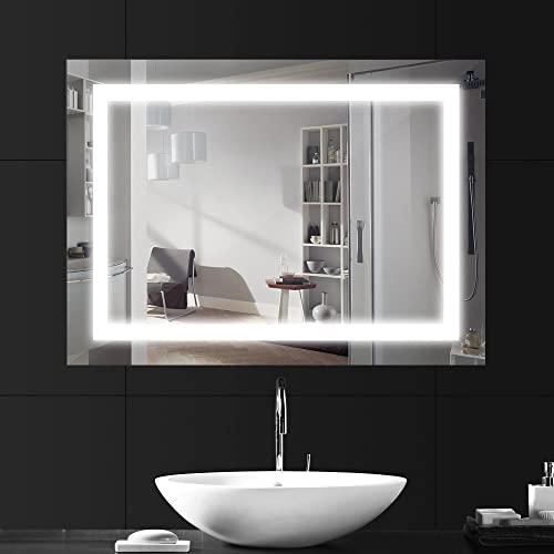 Tremendous Bathroom Led Mirror Amazon Co Uk Download Free Architecture Designs Sospemadebymaigaardcom