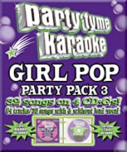 Party Tyme Karaoke - Girl Pop Party Pack 3 (32+32-song Party Pack) [4 CD]