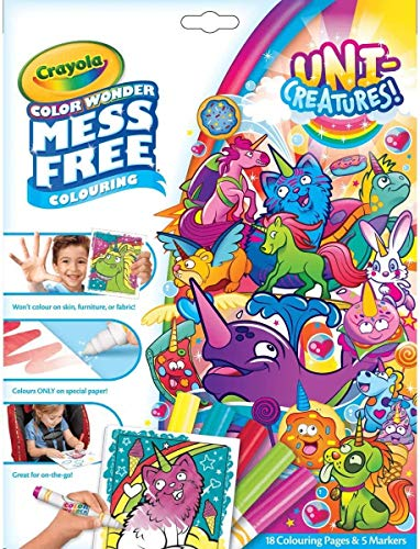 Crayola Color Wonder Refill Paper Mess Free Coloring Pad 30 Blank Pages 75-2143