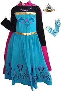 Inspired Elsa Coronation Dress, Tiara and Gloves Set
