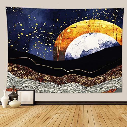Persian cat Tapiz para colgar en la pared, diseño bohemio psicodélico, fondo decorativo para sala de estar, dormitorio, A6