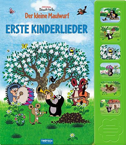 Trötsch Der kleine Maulwurf Erste Kinderlieder: Beschäftigungsbuch Soundbuch Liederbuch Geräuschebuch