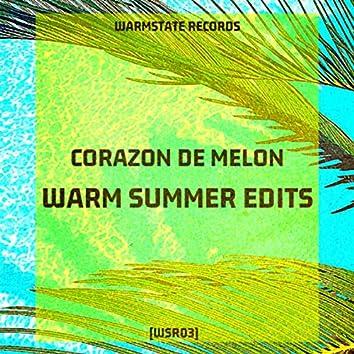 Warm Summer Edits