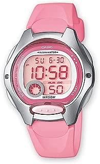 Casio Kids' 37.9mm LW200 4B Digital Watch Pink/Grey