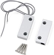 FarBoat MC-52 Rolling Door Magnetic Reed Switch Alarm NO/NC for Windows Door Home Security System Applications with 2 Wire...