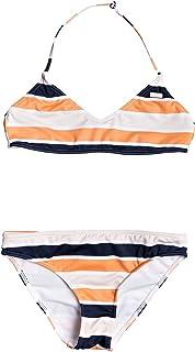 Roxy Made For Conjunto de Bikini Bralette para Chicas 8-16 Conjunto De Bikini Bralette Niñas