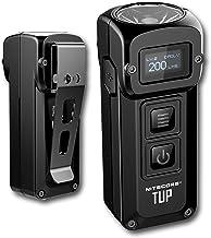 Nitecore TUP - Intelligent Pocket Light - 1000 Lumen - Small Torch - Rechargeable Keychain Flashlight - Built-in Battery &...