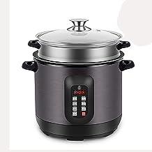 Rijstkoker/stomer (2,5/4L) 304 roestvrijstalen voering, warme functie, met voor 1-4 personen (maat: 4L)