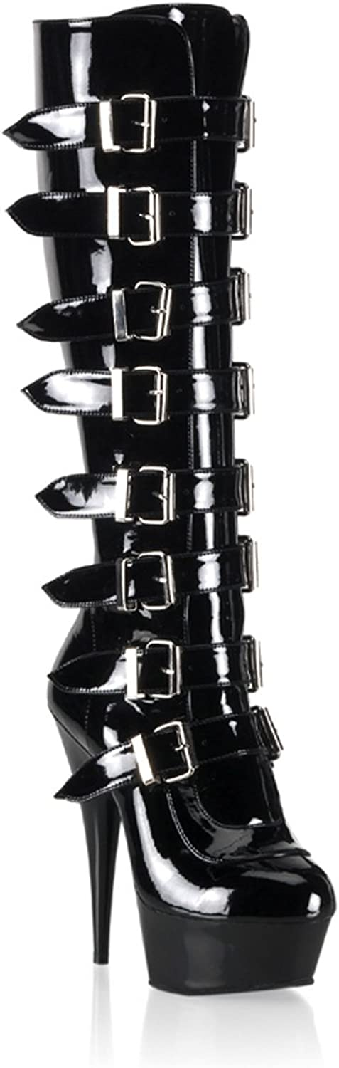 Pleaser Delight-2049 - Sexy Plateau High Heels Stiefel 36-45