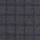 Fabulous Fabrics Mantel Strickstoff Karo Wollmix –