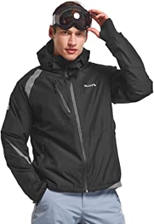 BALEAF Men's Ski Jacket Mountain Insulated Snowboard Jacket Winter Coat