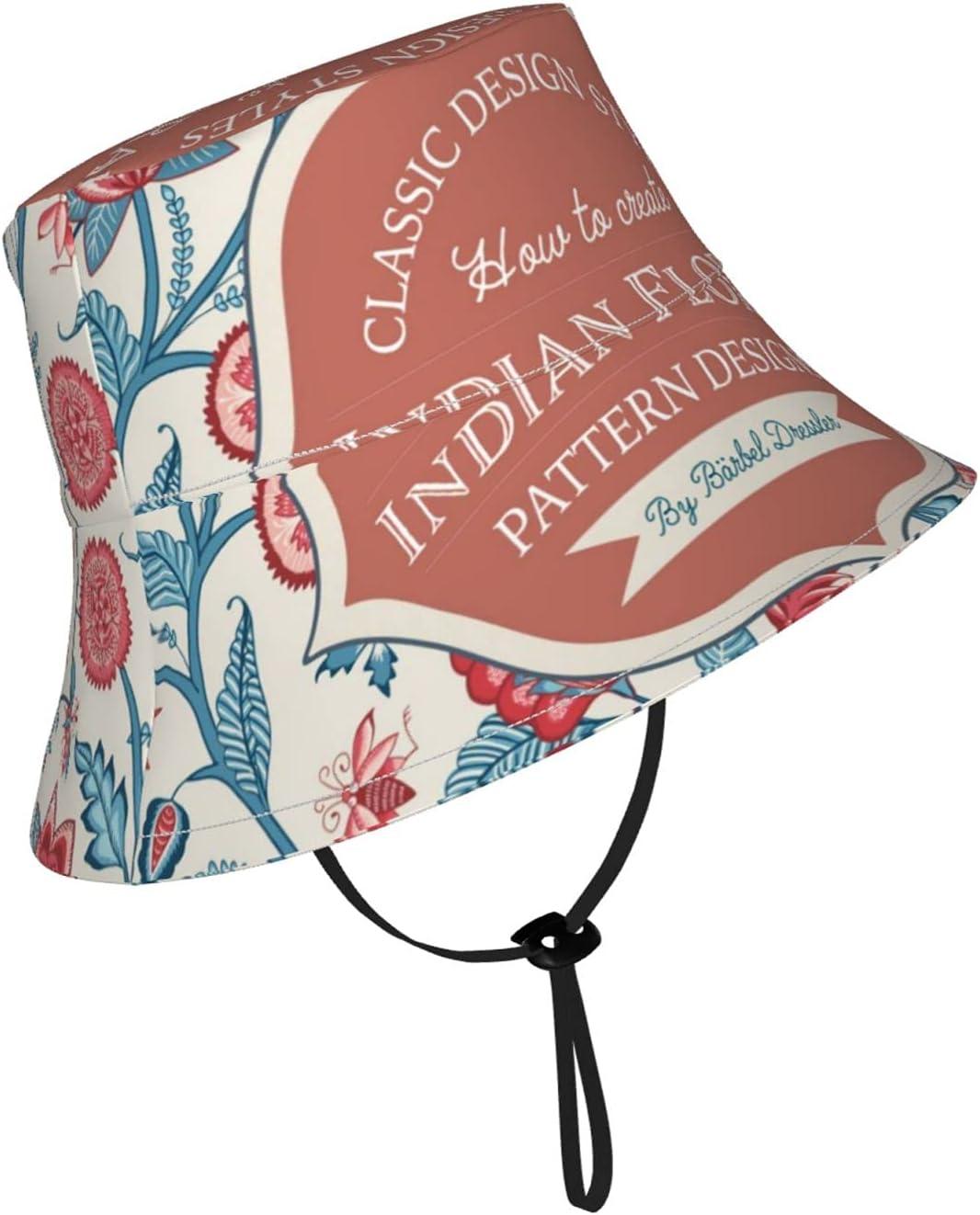 Akindoem Classic Floral Pattern Kids Sun Breathable Max Chicago Mall 85% OFF Adjustab Hat