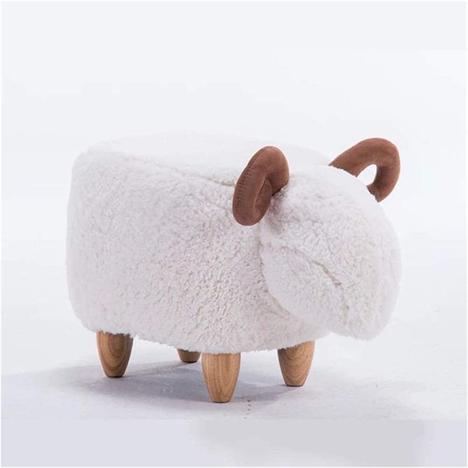 XGLX Modern Wooden Great interest Animal Footstool Kids Bench Sales of SALE items from new works Ott Creative Shoe