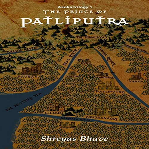 The Prince of Patliputra audiobook cover art