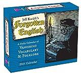 2021 Forgotten English Vanishing Vocabulary and Folklore Boxed Daily Calendar