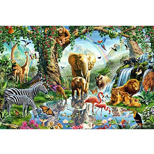 WLH- 500/1000 Stukken Puzzel dieren van de savanne - Jigsaw Puzzle (Size : 500pc)