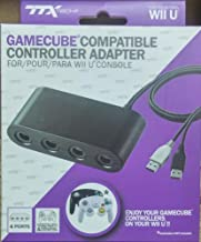 Video Game Accessories GAMECUBE CONTROLLER ADAPTER CONVERTER FOR WII U SUPER SMASH BROS NEW IN BOX