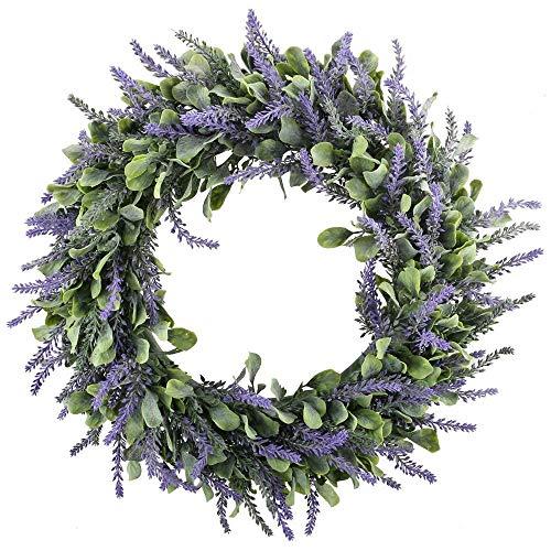 HUAESIN Künstliche Lavendel Deko Bild