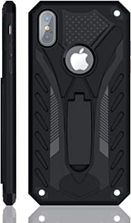 iPhone Xs Max Case | Military Grade | 12ft. Drop Tested Protective Case | Kickstand | Wireless Charging | Compatible with Apple iPhone Xs Max - Black