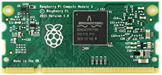 Waveshare Raspberry Pi Compute Module 3 Contains The Guts of a Raspberry Pi 3 4GB eMMC Flash 1.2GHz Quad-core ARM Cortex-A53 Processor