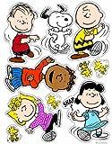Eureka Peanuts Classic Characters Clings
