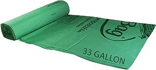 BioBag 33 gallon Compostable Liners (12 - 10 Bag Rolls per Case, 120 Bags)