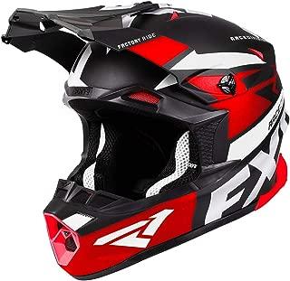 FXR Blade 2.0 Force Helmet - Red/Black/White - MED