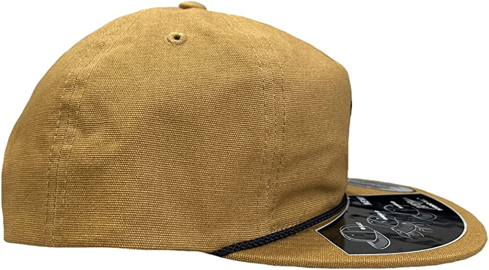 HOOEY Punchy Frontier 5 Panel Unstructured Adjustable Embroidered Hat