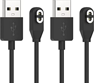 2 Pack Charging Cable Replacement for AfterShokzAeropexAS800 and OpenCommASC100SG, Magnetic USB Charging Charger Cord C...