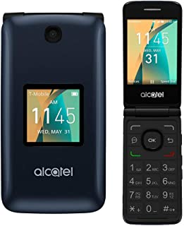 Alcatel Cingular Flip 2 4G LTE FlipPhone Bluetooth WIFI MP3 Camera Good for Elderly - GSM Unlocked (Renewed)