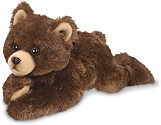 Bearington Lil' Cubbie Small Plush Stuffed Animal Brown Grizzly Bear, 9 inches
