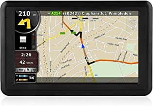 NETVIP GPS Navigation for Car 5 inch HD Touch Screen, Vehicle GPS Navigator Voice Traffic Warning Speed Limit Reminder, GPS Navigation System with 4+16GB Large Storage, Lifetime Maps Update for Free