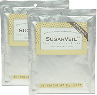 SugarVeil 2-pack of 3.4 oz SugarVeil Confectionery Icing