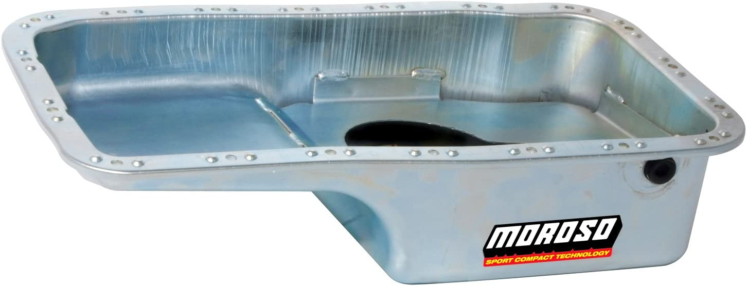 Moroso 20911 Stock Miami Mall Configuration Oil Engines Over item handling 1.8L for Honda Pan
