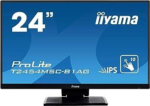 "iiyama Prolite T2454MSC-B1AG 23.8"" 1920 x 1080pixels Multi-Touch Multi-User Black Touch Screen moni"