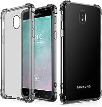 J&D Compatible para Samsung Galaxy J3 2018 Funda, [Cojín de Esquina] [Ligero] [Ultra-Clear] Protector de Silicona de Choque Delgado y Resistente a Los Golpes Funda - [No para Galaxy J3 2017] - Gris